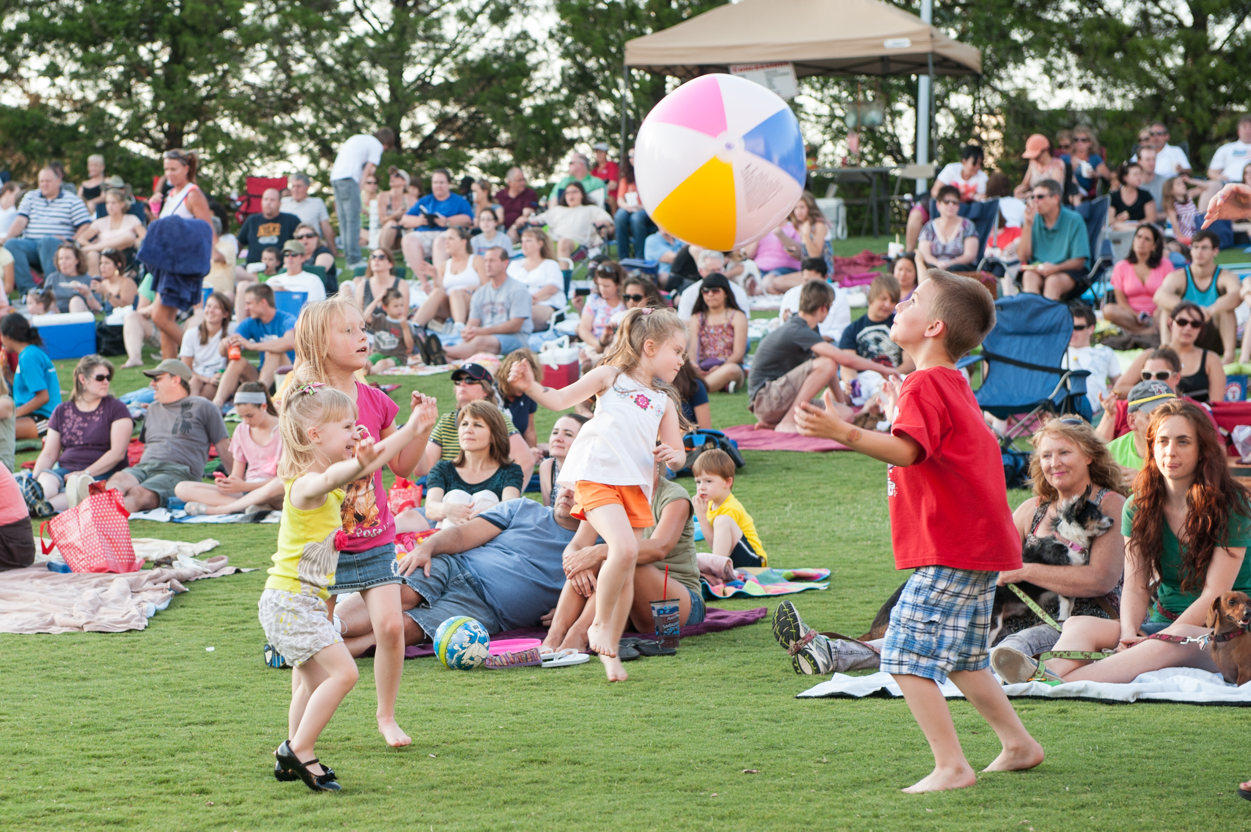 Summer Sounds Concert at Joe Farmer Recreation Center